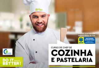 Curso de Chef de Cozinha e Pastelaria