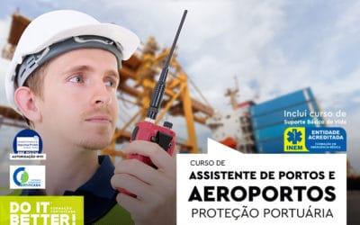 Curso de Assistente de Portos e Aeroportos – Proteção Portuária