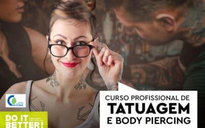 Curso Profissional Tatuagem e Body Piercing