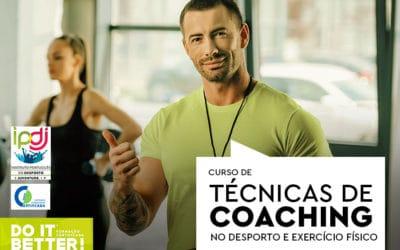 Curso de Técnicas de Coaching no Desporto e Exercício Físico