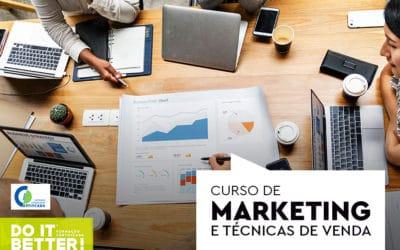 Curso de Marketing e Técnicas de Vendas