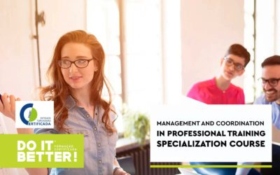 Management and Coordination In Professional Training Specialization Course