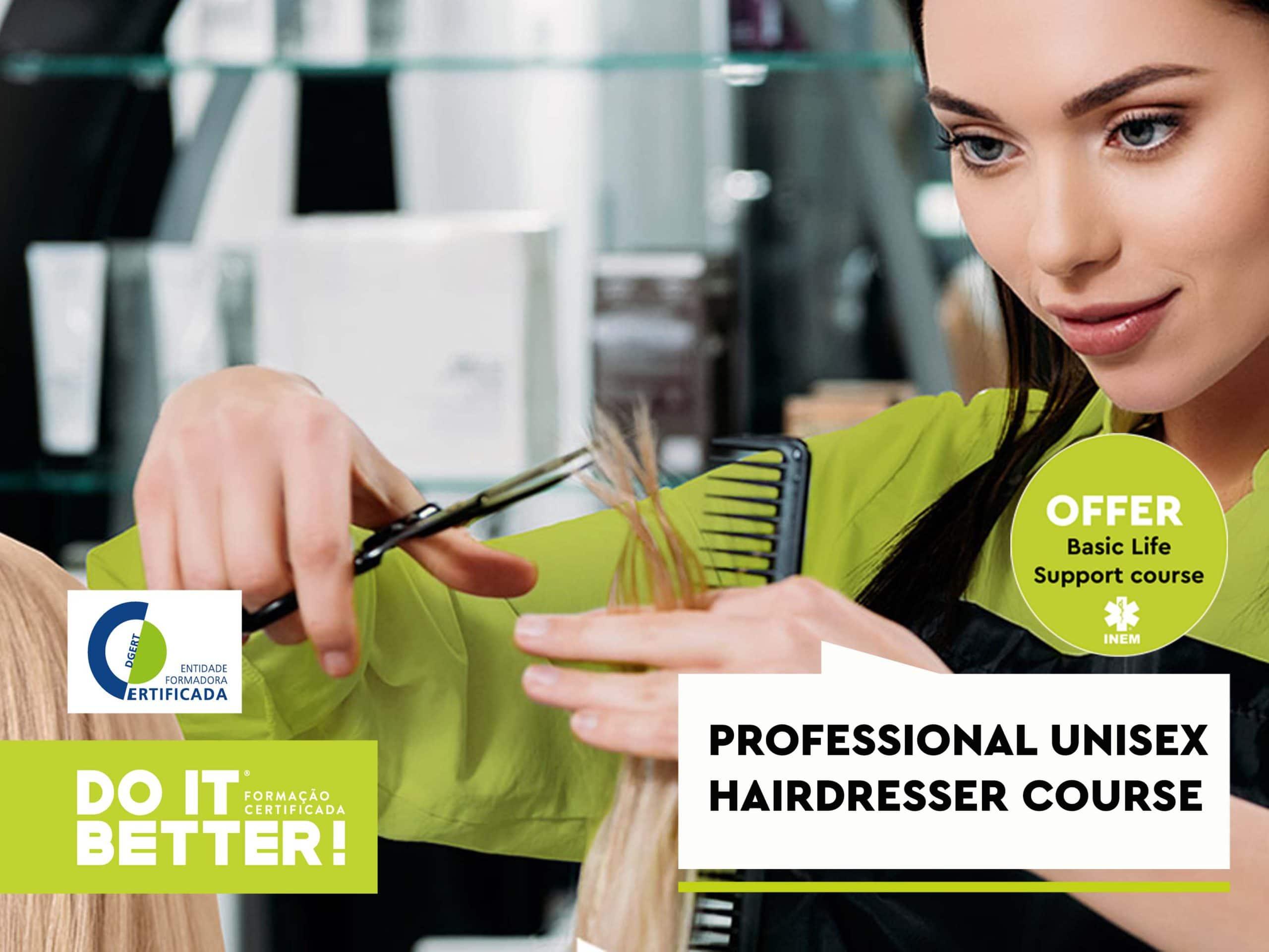 Professional Unisex Hairdresser-offer